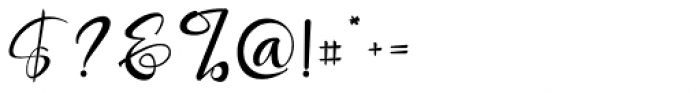 Roberto Regular Font OTHER CHARS