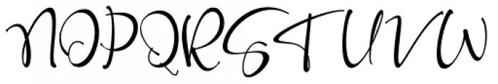 Roberto Regular Font UPPERCASE