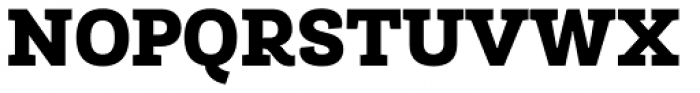 Roble Alt Black Font UPPERCASE