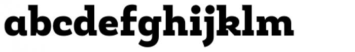Roble Alt Black Font LOWERCASE