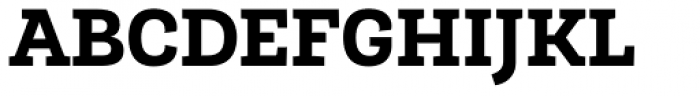 Roble ExtraBold Font UPPERCASE