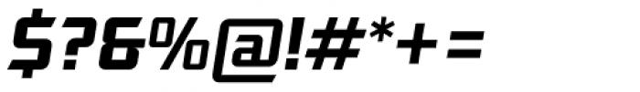 Robofan Italic Font OTHER CHARS