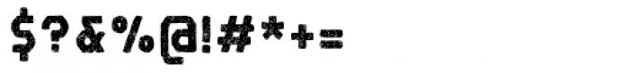 Robolt X Battery Carbon Font OTHER CHARS