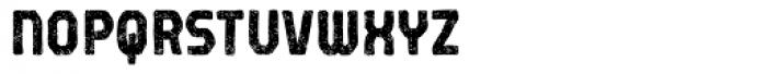 Robolt X Battery Carbon Font UPPERCASE