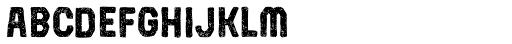 Robolt X Battery Carbon Font LOWERCASE