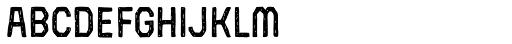 Robolt X Battery Oxide 200 v Font LOWERCASE