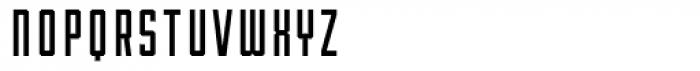 Robolt X Machine 200 Font LOWERCASE