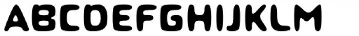 Roboo 4F Bold Font UPPERCASE