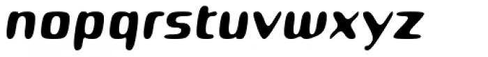 Roboo 4F Italic Font LOWERCASE