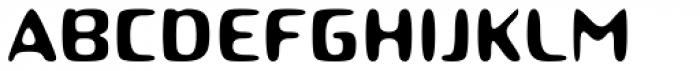 Roboo 4F Font UPPERCASE
