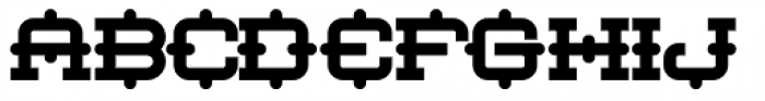 Robot Monster NF Font UPPERCASE