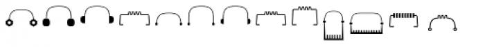 Robots ht Goodies Font LOWERCASE