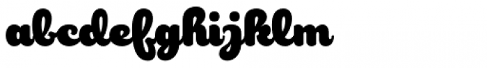 Robu Choco Script Bold Font LOWERCASE