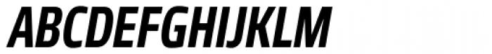 Robusta Cond Bold Italic Font UPPERCASE