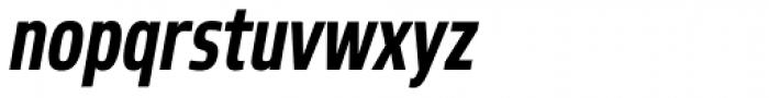 Robusta Cond Bold Italic Font LOWERCASE