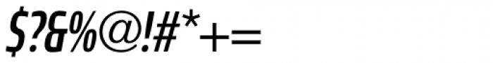 Robusta XCond Medium Italic Font OTHER CHARS
