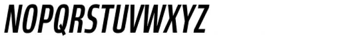 Robusta XCond Medium Italic Font UPPERCASE