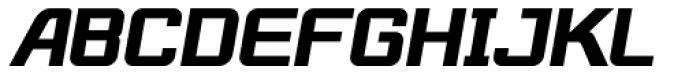 Robustik Bold Oblique Font UPPERCASE
