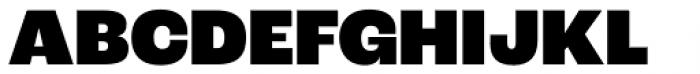 Roc Grotesk Black Font UPPERCASE