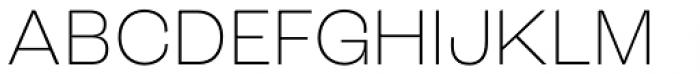 Roc Grotesk Extra Light Font UPPERCASE