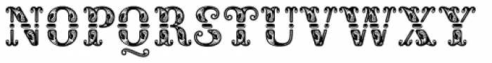 Rocaie Font LOWERCASE