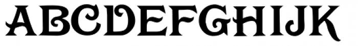 Rochambeau Font UPPERCASE