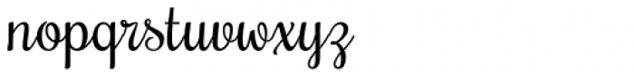 Rochester Pro Font LOWERCASE