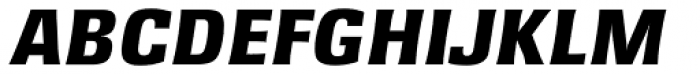 Rochester TS ExtraBold Italic Font UPPERCASE