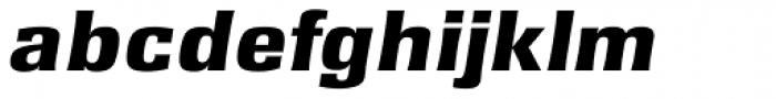 Rochester TS ExtraBold Italic Font LOWERCASE