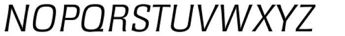 Rochester TS Light Italic Font UPPERCASE