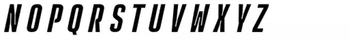 Rocinante Titling Medium Oblique Font UPPERCASE