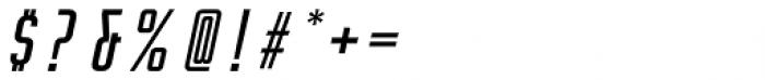 Rocinante Titling Regular Oblique Font OTHER CHARS