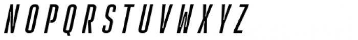 Rocinante Titling Regular Oblique Font UPPERCASE