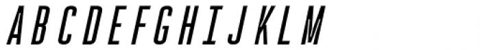 Rocinante Titling Regular Oblique Font LOWERCASE