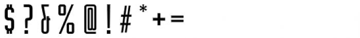 Rocinante Titling Regular Font OTHER CHARS