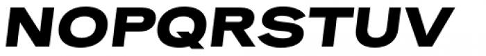 Rock Star Extra Bold Italic Font UPPERCASE