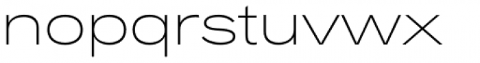 Rock Star Extra Light Font LOWERCASE