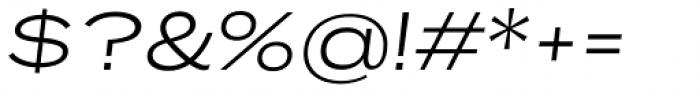 Rock Star Light Italic Font OTHER CHARS