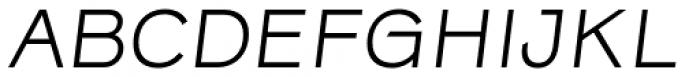 Rock Star Narrow Light Italic Font UPPERCASE