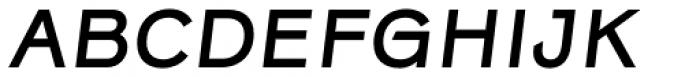 Rock Star Narrow Medium Italic Font UPPERCASE