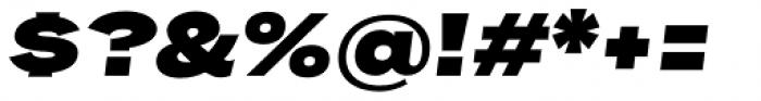 Rock Star Ultra Black Italic Font OTHER CHARS