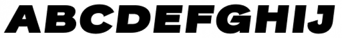 Rock Star Ultra Black Italic Font UPPERCASE