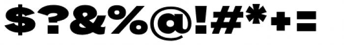 Rock Star Ultra Black Font OTHER CHARS