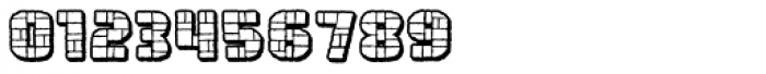 Rock Steady Outline BB Font OTHER CHARS