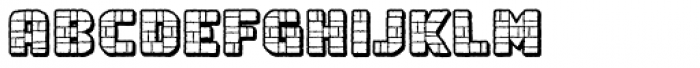 Rock Steady Outline BB Font UPPERCASE