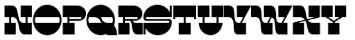 Rock Wood Text Font UPPERCASE