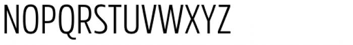 Rockeby Condensed Regular Font UPPERCASE