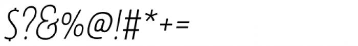 Rockeby Script One Regular Font OTHER CHARS