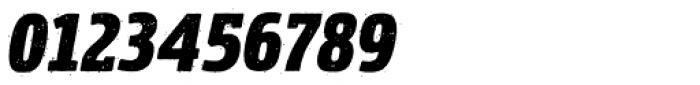 Rockeby Semi Serif Rough Black Italic Font OTHER CHARS
