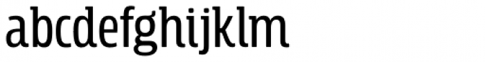 Rockeby Semi Serif Semi Bold Font LOWERCASE